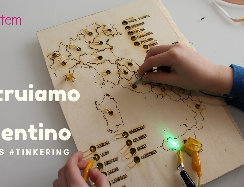 """Tinkering & Making – Come creare un """"Sapientino"""" delle regioni DIY"""